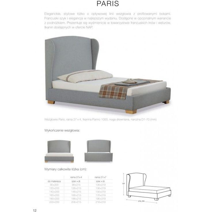 Łóżko Paris NAP