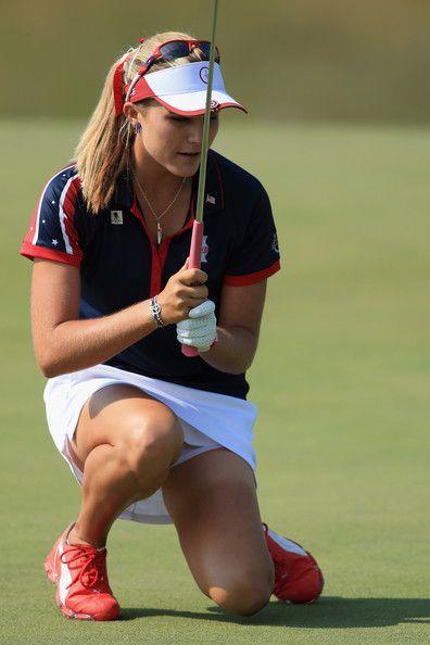 Lexi Thompson in The Solheim Cup: Day 1