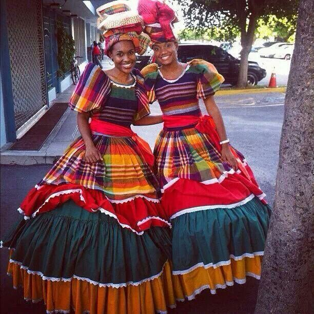 One form of ethnic Wear of Jamaica.