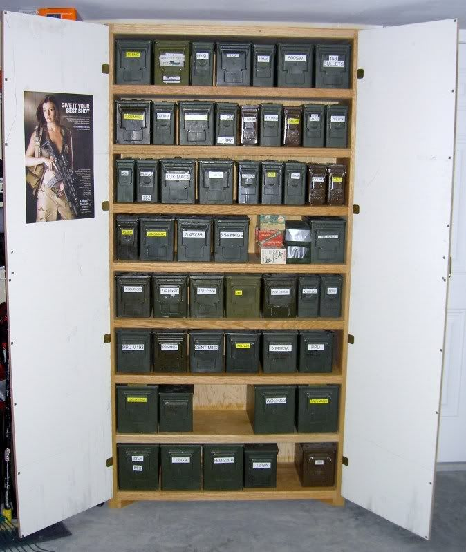 ammo storage | Ammo Storage Shelf Ideas - AR15.Com Archive