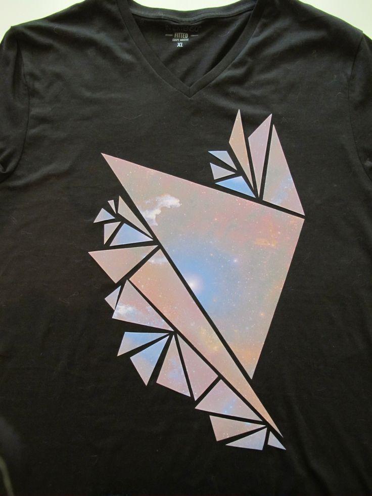Pillie Over The Rainbow: DIY Tee-shirt constellation