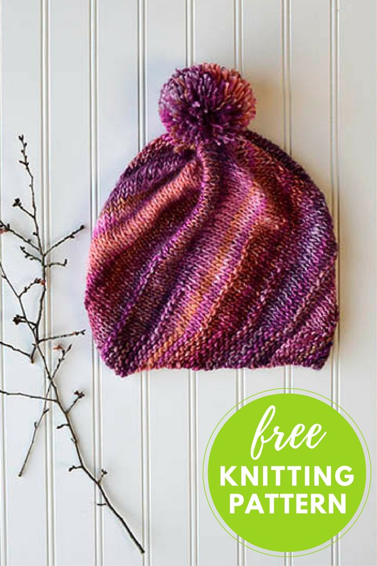 267 best Knitting - Women\'s Hats & Headbands images on Pinterest ...
