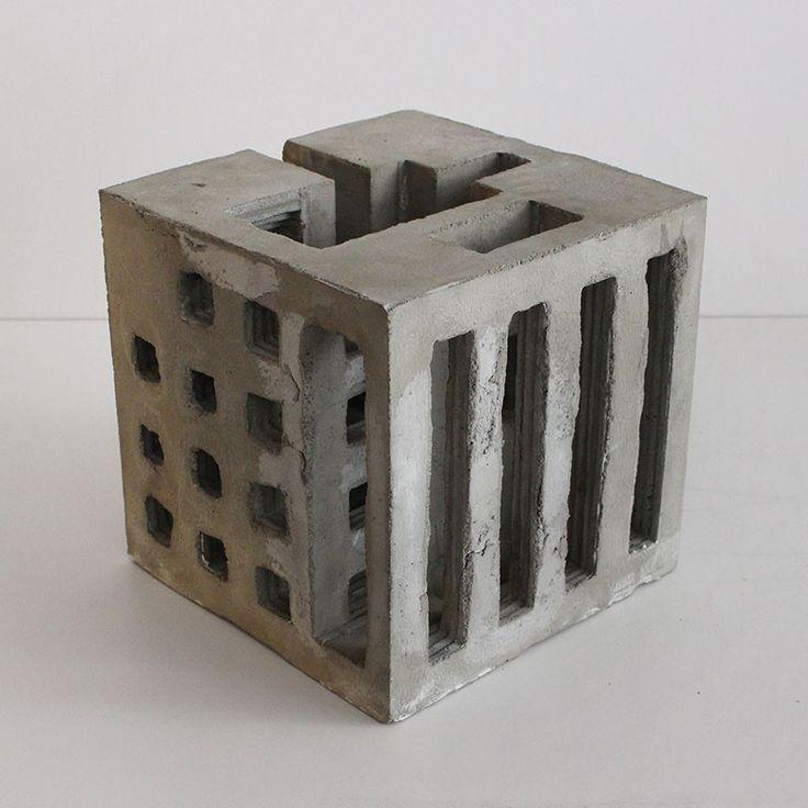 intersecting planes sculpture. brutalist concrete sculptures by david umemoto | faith is torment art and design blog intersecting planes sculpture