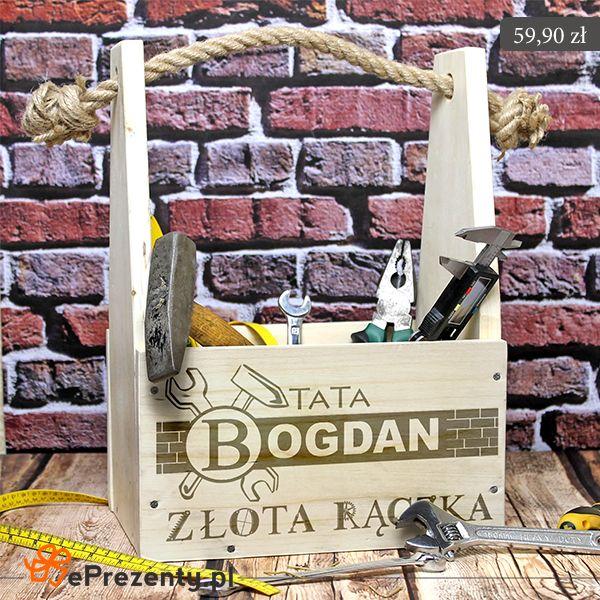 Skrzynka na narzędzia dla każdego majsterkowicza! #skrzynka #tata #dlataty #dzieńojca #dzieńtaty #warsztat #majsterkowanie