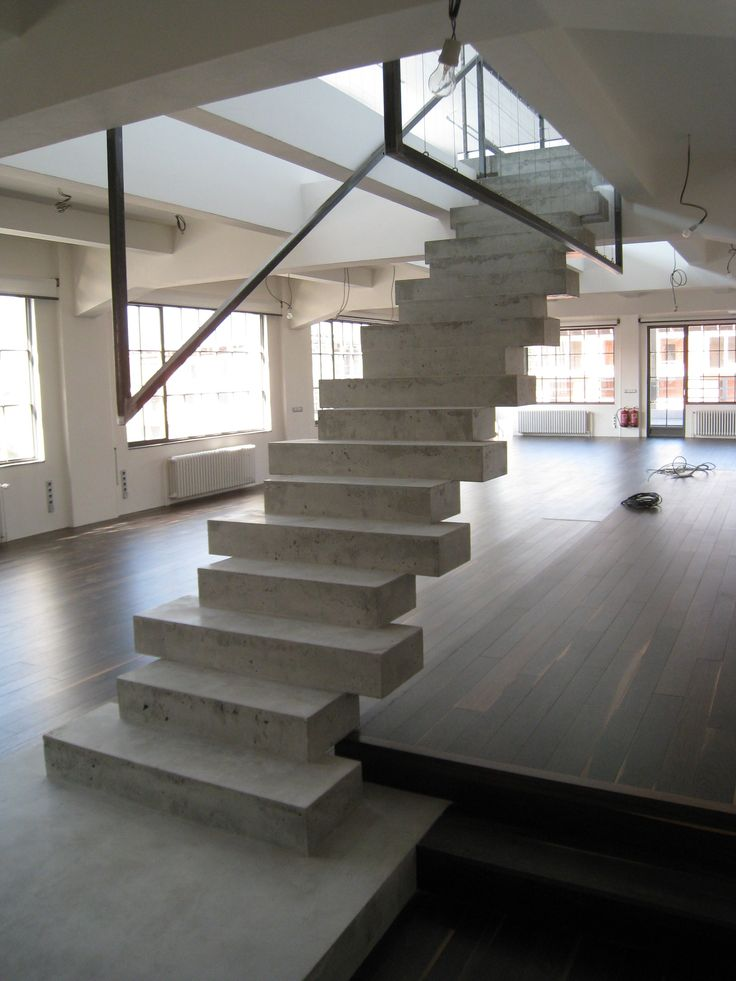 Best 11 Inspiring Concrete Stairs Design Image House Stuff 400 x 300