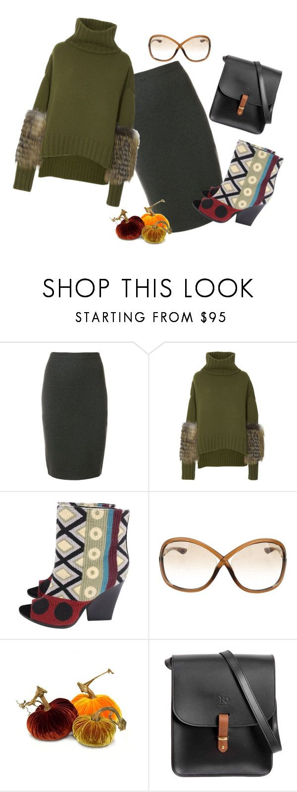 """""""Untitled #448"""" by jo-anna-jarvis ❤ liked on Polyvore featuring D.Exterior, Sally Lapointe, Burberry, Tom Ford and N'Damus"""