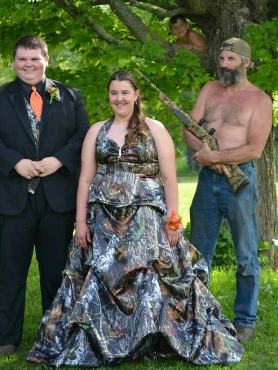 redneck wedding armed its totally normal to marry your mum whilst your dad is