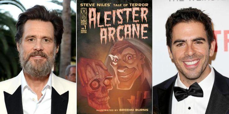 Aleister Arcane : le nouveau film d'horreur d'Eli Roth avec Jim Carrey