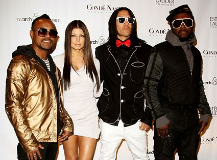 """artist: black eyed peas / fave songs: """"i gotta feeling"""" (of course!)"""