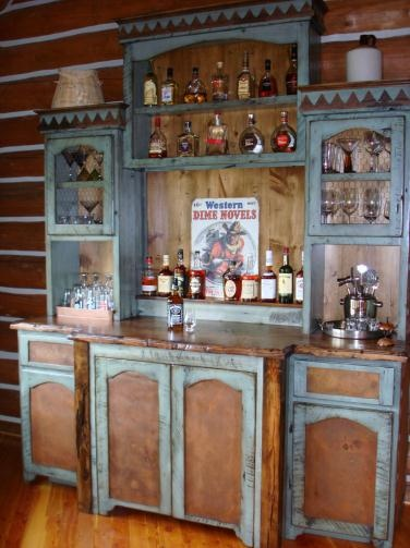 Wet bar - Aller Rustic Designs