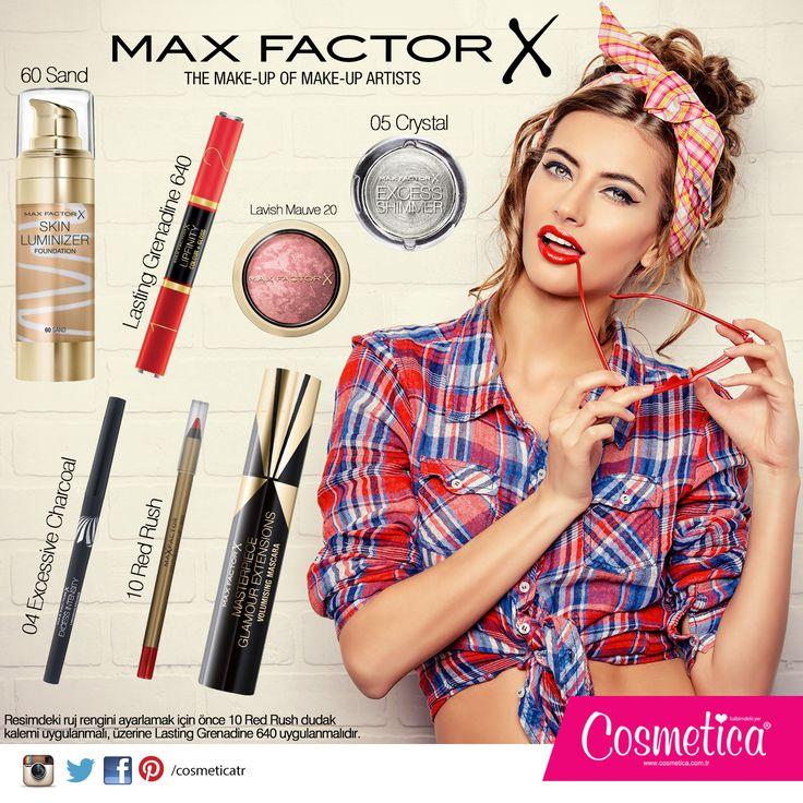Maxfactor ile makyaj kombinasyonu. http://bit.ly/maxfactorkombin