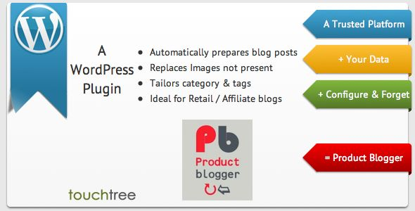 WordPress Product Blogger   http://codecanyon.net/item/wordpress-product-blogger/2192279?ref=damiamio       WordPress Product Blogger Automatically retrieves, formats & publishes a blog posting from a database table; e.g. a retail product list.   It is ideal for posting regular product information on a retail website blog or affiliate website. Mix it in with tailored blogs to keep the content updates regular, fresh and diverse.  What it does Product Blogger takes a Database table containing…