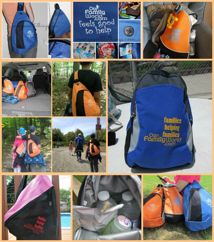 Check out OurFamilyWorld Sling Bags in action!