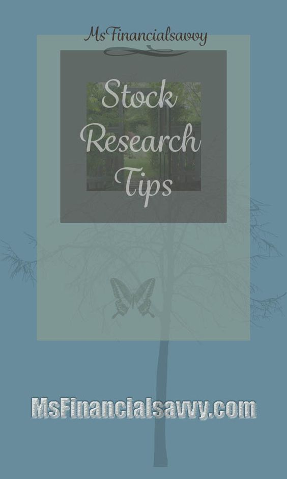 Stock research tips for those who need to choose them for 401k, savings, or other retirement. You must understand how to evaluate them before you ever purchase a stock.