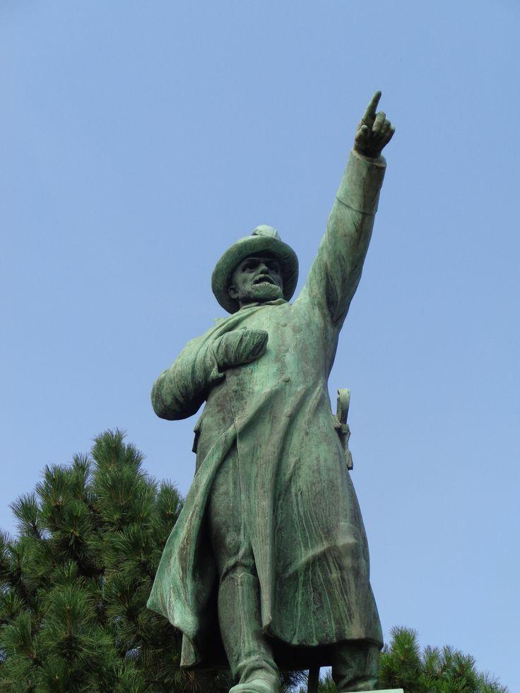 Budapeşte, Macaristan'daki Józef Bem (Murad Paşa) Heykeli