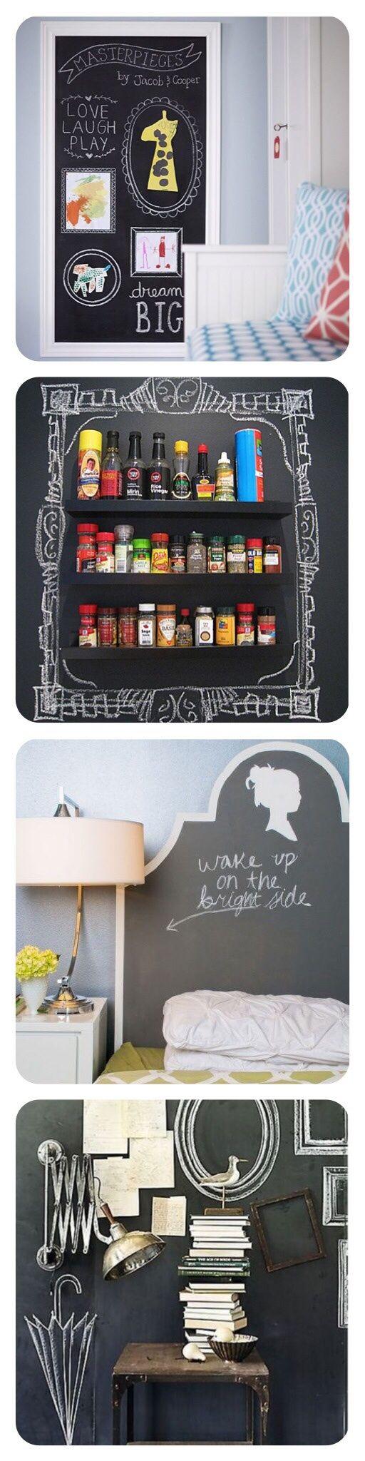 Del ritorno a scuola, di lavagne e pitture per pareti. | ReFresh