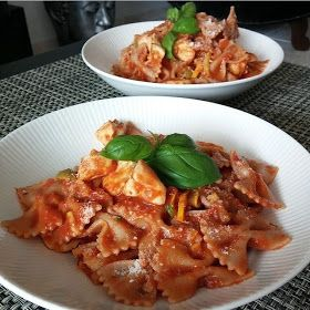 Healthy Living in Heels: Charlie's 3 Favo Pasta's