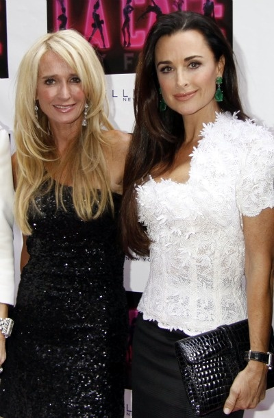 Kim and Kyle Richards.  I really admire how loyal Kyle Richards is to her friends and family.