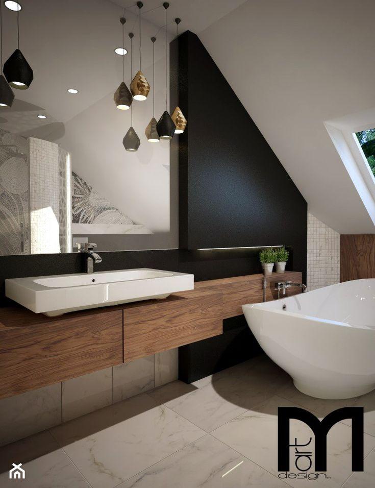Projekt nowoczesnej łazienki - Łazienka, styl nowoczesny - zdjęcie od Mart-Design Architektura Wnętrz