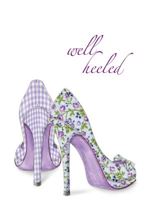 Well Heeled Friendship Card