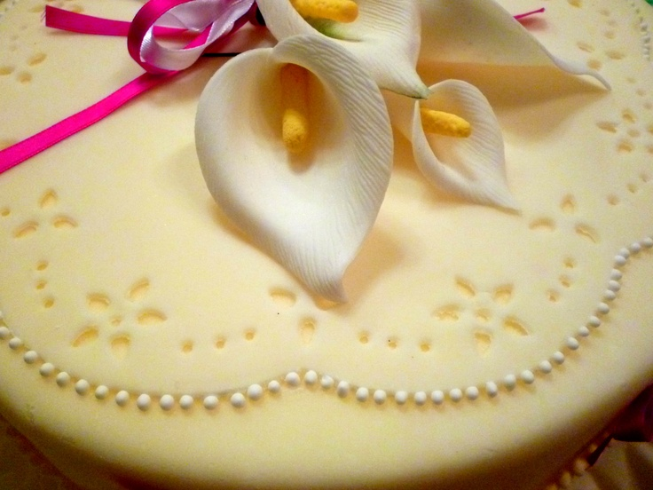 Sugar paste decoration