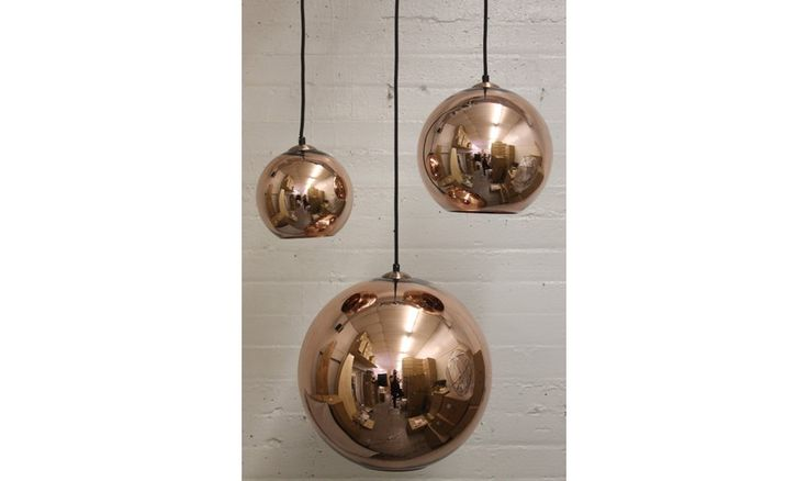 Mr Ralph | Copper Ball 30cm diameter - ESSENTIALS, Pendants