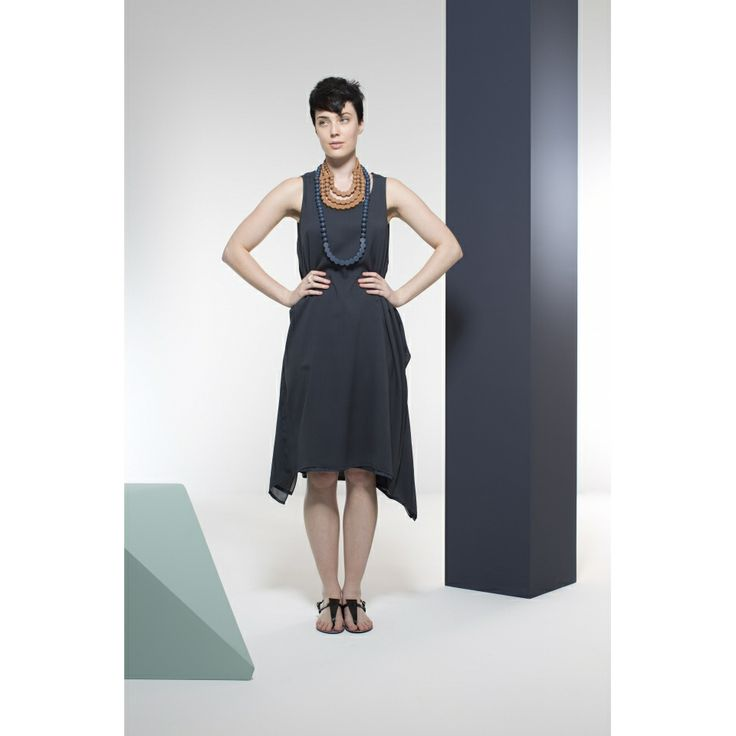 Silk Split Tank Dress   Apparel   Womens   Collections   Elk Accessories