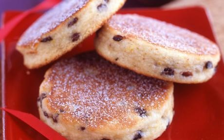 Welsh Cakes in 10 mins by Food Network Kitchens   Biscuits Professional recipe   Foodnetwork.co.uk