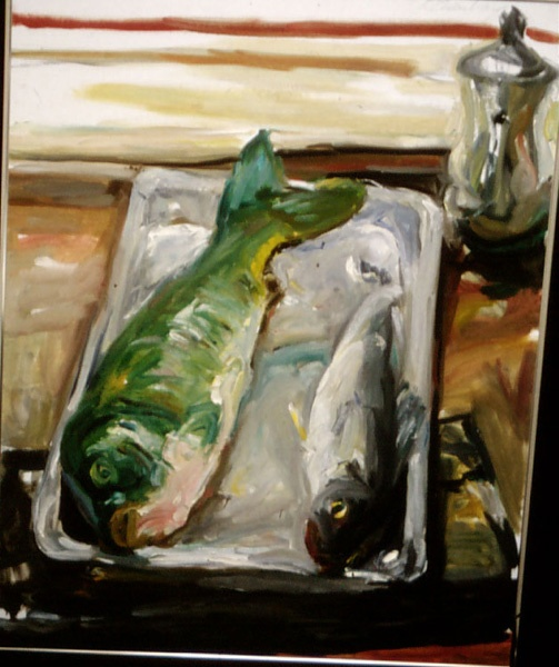 UNTITLED • By Raphael Eisenberg Oil on Canvas
