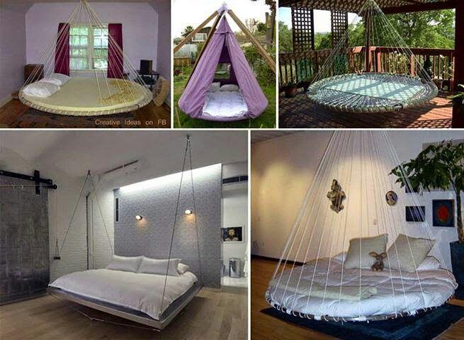 Cool trampoline beds | beautiful sleeps | Pinterest | Trampoline bed ...