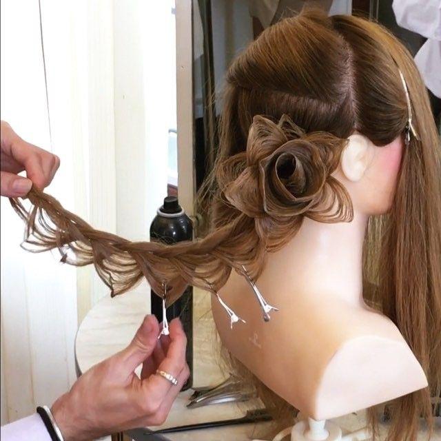 Pin for Later: Dieser Friseur gestaltet die atemberaubendsten Hochsteckfrisuren
