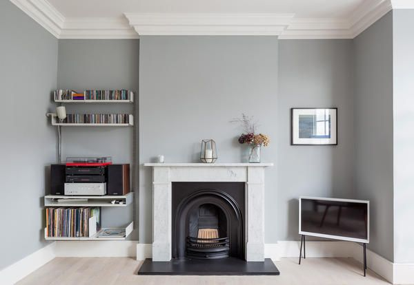Colours play a key role in a house renovation in London - Elle Decor Italia