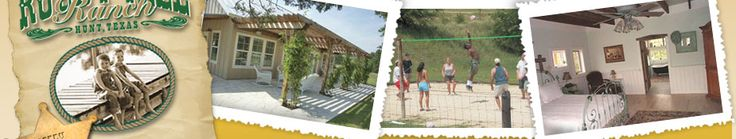 Texas Family Weekend Vacations :: Texas Hill Country Map :: Hill Country Hotel :: Roddy Tree Ranch