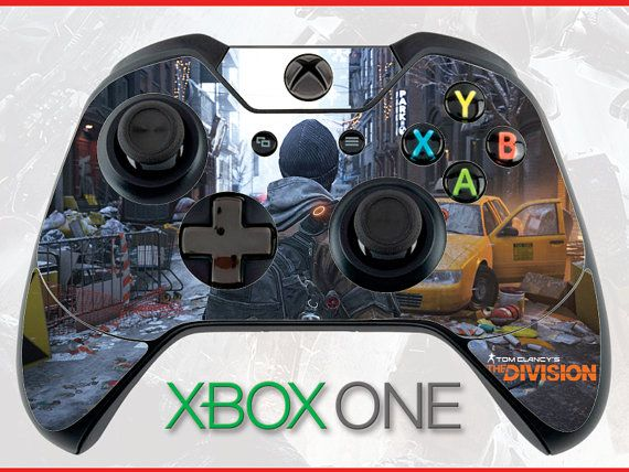 Tom Clancy's the Division Skin Xbox One Controller Skin Sticker Xbox Skin Tom…