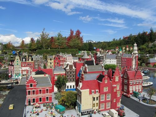 Lego city in Legoland Germany