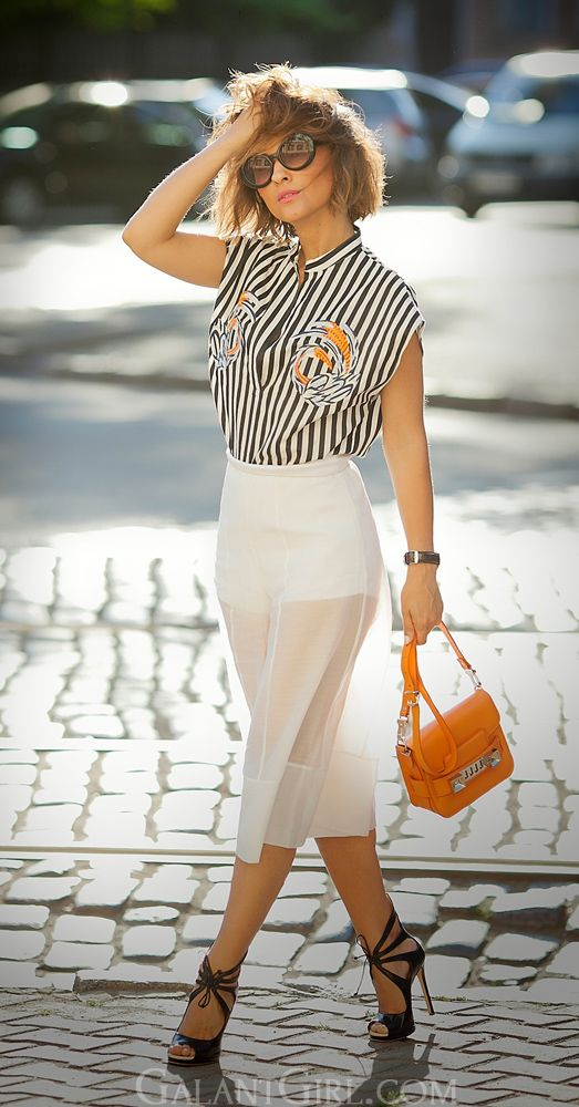 #culottes #culottesOutfit #ProenzaSchouler #chicStyle #SummerOutfitIdeas #GalantGirl
