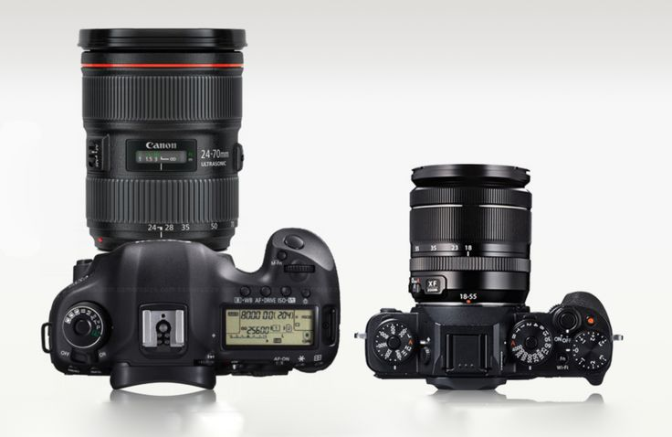 The best camera ? - Canon EOS 5D Mark III or Fujifilm X T1 by Daan Wagner