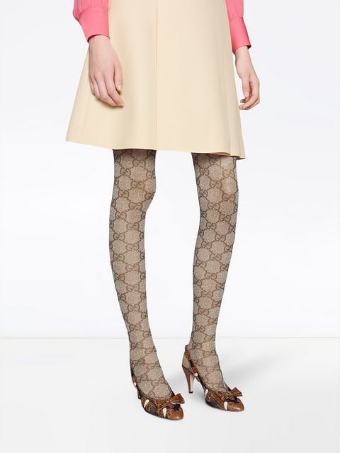 431600847 Gucci GG Pattern Tights in 2019