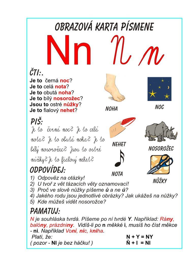 Inkluzivní škola - písmeno N