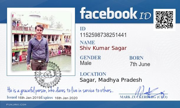 Shiv Kumar Sagar's Facebook ID Card - Funjaki com   Facebook
