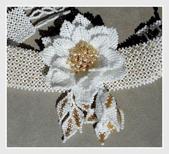 Collana nuziale in rilievo esclusivo del di Gemsplusleather
