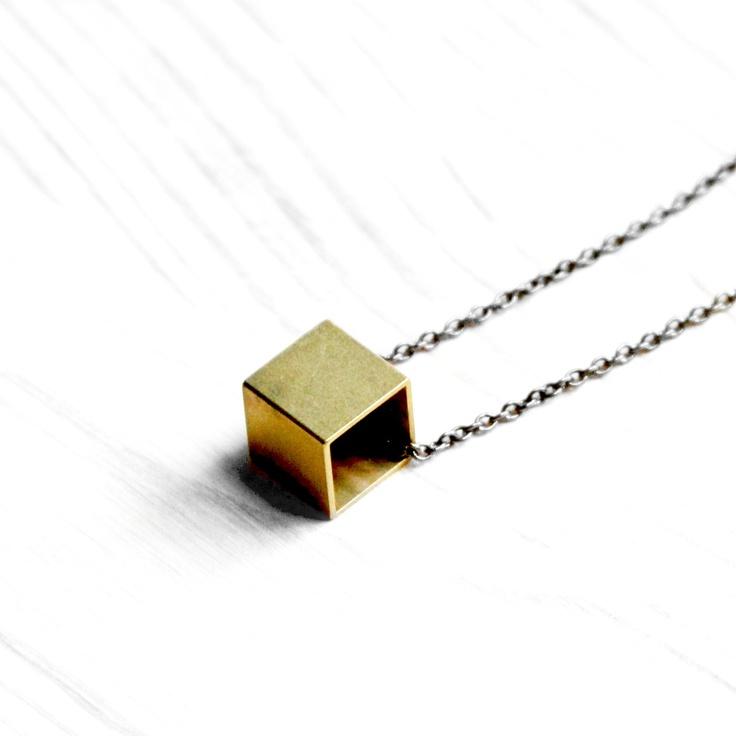 Urban Aviary | Freeform Cube Necklace