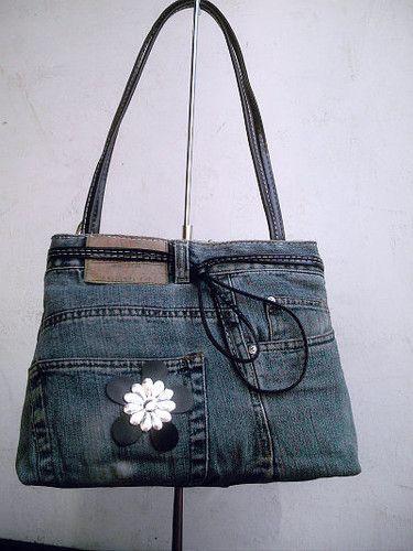 bolsos hechos con jeans - Buscar con Google