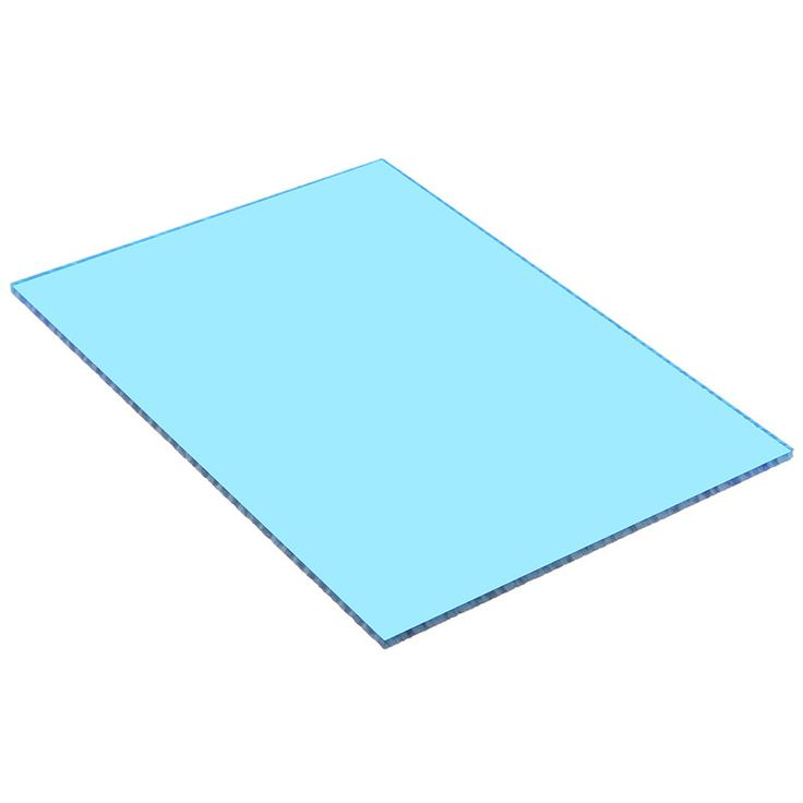 Newest Transparent Blue Acrylic Sheets Clear 210*148*3mm Perspex Furniture Polystyrene Plexiglass Sun Sheet Plastic Low Price #Affiliate