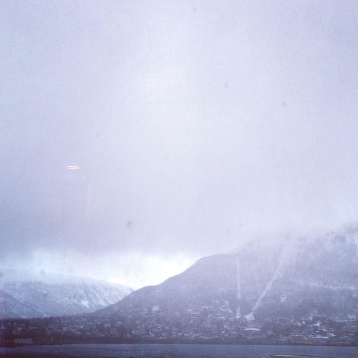 In Tromsø....northern Norway ❄️