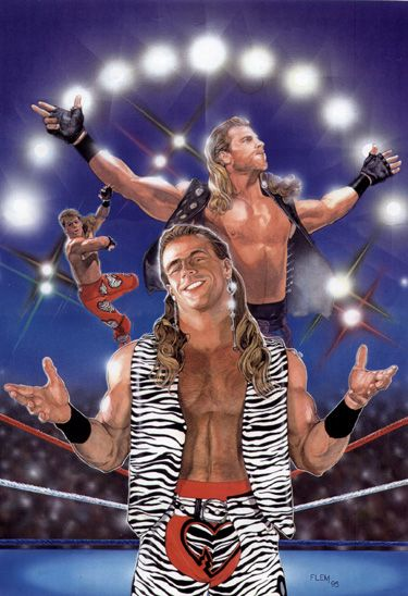 Shawn Michaels - Tom Fleming