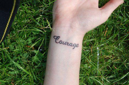 courage #tattoo
