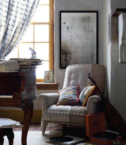 Armchair's upholstery :)