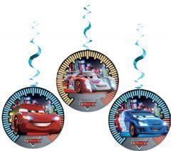 Parti Beta - Cars Neon Asmalı İp Süs