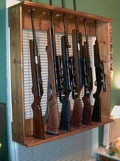 25 Best Ideas About Gun Racks On Pinterest Gun Safe Diy